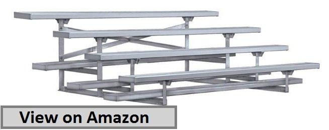 4 row aluminium bleachers